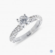 Hearts on Fire 18kt white gold 0.71ct Diamond engagement ring