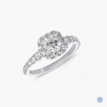 Hearts on Fire 18k white gold0.52ct diamond engagement ring