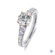 Hearts on Fire 18kt white gold Diamond engagement ring