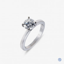 14kt white gold 1.02ct Diamond Engagement Ring
