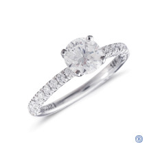 Tacori Petite Crescent 1.02ct Diamond Engagement Ring