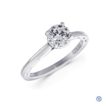 Tacori Platinum 0.75ct Swarovski Lab Created Diamond Engagement Ring