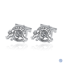 Hamilton Tiger-Cats Sterling Silver Cufflinks