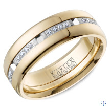 Carlex Gold with Diamond Wedding Band