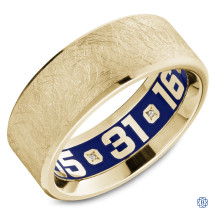 Carlex Gold Wedding Band