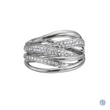 10kt Gold Diamond Right Hand Ring