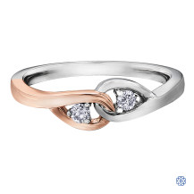 Together Forever Two-Tone 10kt Diamond Ring