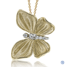 Simon G Diamond Butterfly Pendant