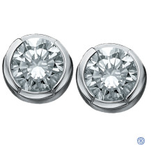 10kt White Gold Canadian Diamond earrings