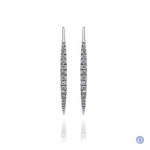 Gabriel & Co. 14kt White Gold Diamond Earrings