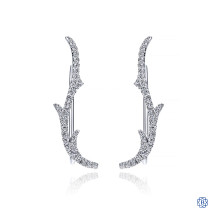 Gabriel & Co. 14kt White Gold Diamond Ear Cuffs