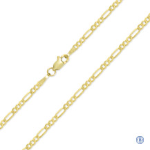 Figaro Style Gold Chain