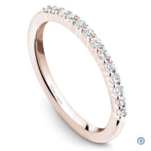 14kt Rose Gold 0.25ct Diamonds Wedding Band