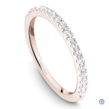 Rose Gold 0.37ct Diamonds Wedding Band