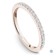 Rose Gold 0.29ct Diamonds Wedding Band