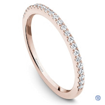 Rose Gold 0.25ct Diamonds Wedding Band