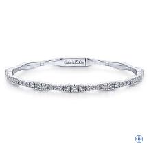Gabriel & Co. 14kt White Gold Diamond Bracelet