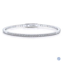 Gabriel & Co. 14kt White Gold Diamond Bracelet