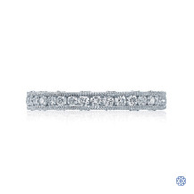 Tacori Reverse Crescent Diamond Wedding Band