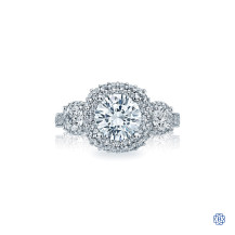 Tacori 18kt White Gold 0.70ct Canadian Diamond Engagement Ring