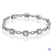 Simon G 18kt white gold diamond Bracelet