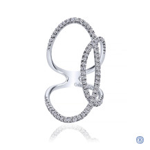 Gabriel & Co. 14kt White Gold Diamond Fashion Ring