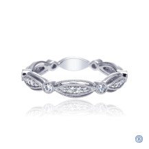 Gabriel & Co. 14kt White Gold Diamond Stackable Band