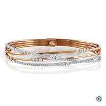 Simon G 18kt Rose Gold Diamond Bracelet