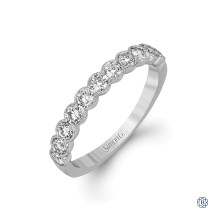 Simon G Diamond Wedding Band