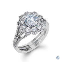 Simon G Diamond Engagement Ring