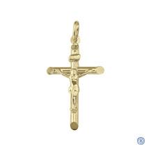 Yellow Gold Crucifix
