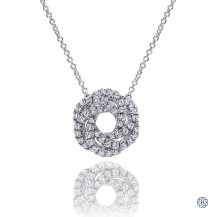 Gabriel & Co. 14kt White Gold Lusso Diamond Fashion Necklace