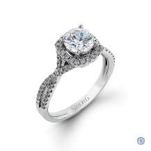 Simon G Diamond Engagement Ring
