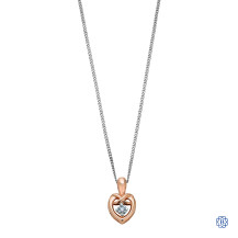 110kt Rose Gold Canadian Diamond Necklace