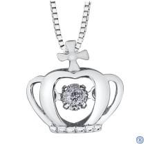 10kt White Gold Canadian Diamond necklace