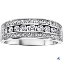 10kt white gold diamond ring