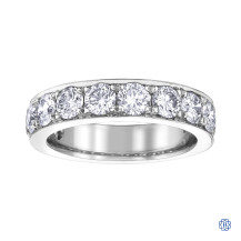 10kt white gold diamond eternity band