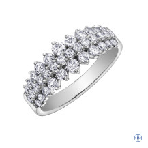10kt white gold 1.00ct Diamond Ring