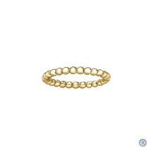 10kt Gold Stackable Ring