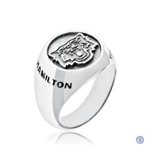 Hamilton Tiger-Cats Men's Sterling Silver Ring