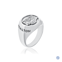 Hamilton Tiger-Cats Ladies Sterling Silver Ring
