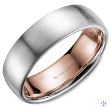 Bleu Royale Gold Wedding Band