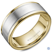 Bleu Royale Wedding Band