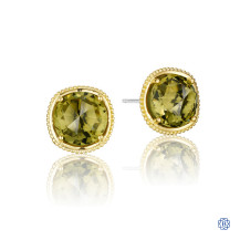 Tacori 18K925 Midnight Sun Stud Earrings