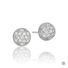 Tacori 18k925 Sonoma Mist Stud Earrings