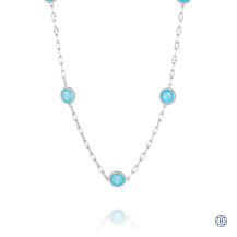 Tacori 18K925 Island Rains Stationary Necklace