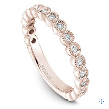 Noam Carver Stackable Ring-18kt Gold-Rose