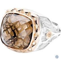 Tacori 18k925 Smokey Quartz Ring