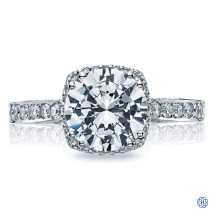 Tacori Dantela 18kt 1.01ct Diamond Engagement Ring