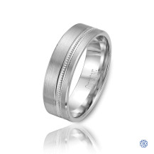 CrownRing Gold Men's Wedding Band